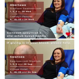 Community Partnerships Welsh Blood Service & Sanctuary Runners